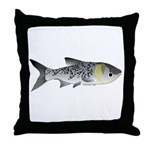 Bighead Carp (Asian Carp) fish Throw Pillow