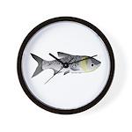 Bighead Carp (Asian Carp) fish Wall Clock
