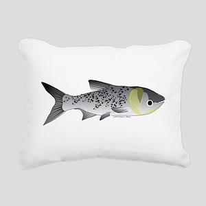 Bighead Carp (Asian Carp) fish Rectangular Canvas
