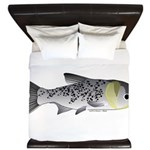 Bighead Carp (Asian Carp) fish King Duvet