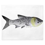 Bighead Carp (Asian Carp) fish King Duvet