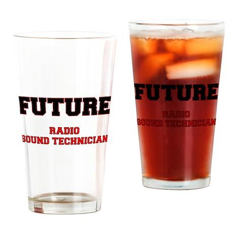 Future Radio Sound Technician Drinking Glass