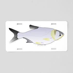 Silver Carp (Asian Carp) fish Aluminum License Pla