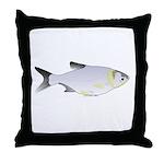 Silver Carp (Asian Carp) fish Throw Pillow