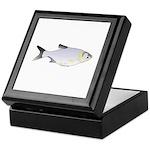 Silver Carp (Asian Carp) fish Keepsake Box