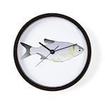 Silver Carp (Asian Carp) fish Wall Clock