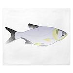 Silver Carp (Asian Carp) fish King Duvet