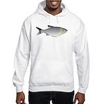 Silver Carp (Asian Carp) fish Hoodie