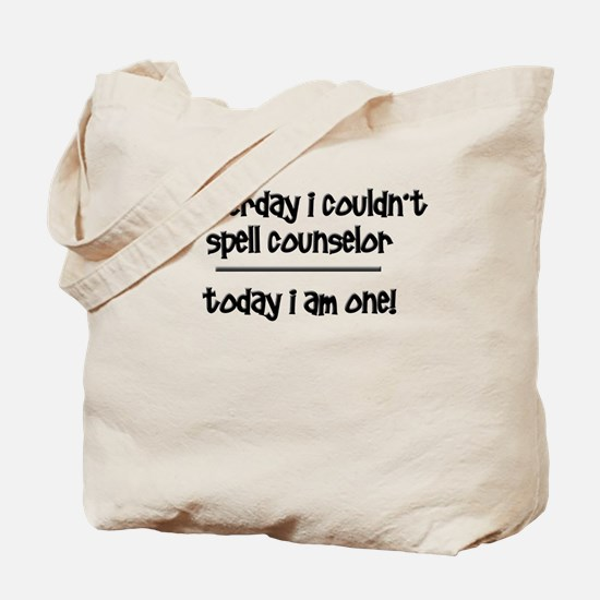 Funny Counselor Tote Bag