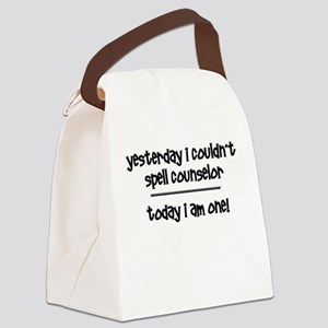 Funny Counselor Canvas Lunch Bag