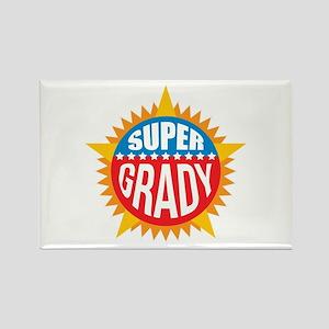 Super Grady Rectangle Magnet