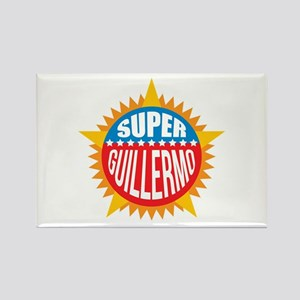 Super Guillermo Rectangle Magnet