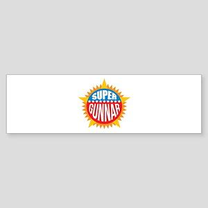 Super Gunnar Bumper Sticker