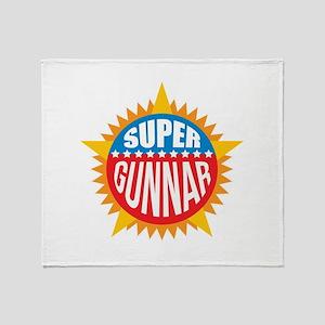 Super Gunnar Throw Blanket