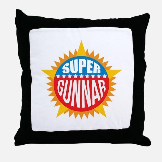 Super Gunnar Throw Pillow
