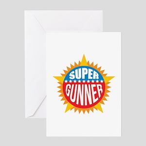 Super Gunner Greeting Card