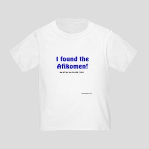 Passover - I found the Afikomen! And all I got ...