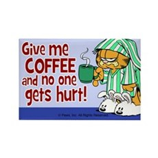 Give Me Coffee Rectangle Magnet (10 pack)
