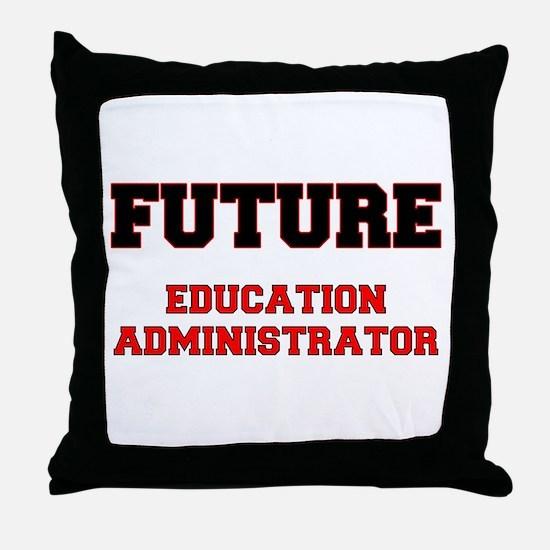 Future Education Administrator Throw Pillow