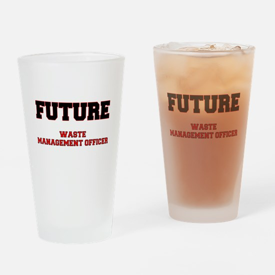 Future Waste Management Officer Drinking Glass