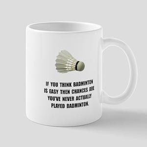 Badminton Easy Mug
