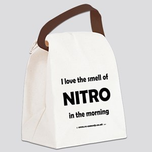 I love the smell of Nitro... Canvas Lunch Bag