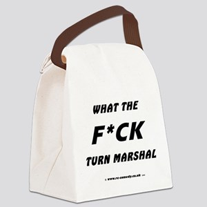 WTF Turn Marshal Canvas Lunch Bag