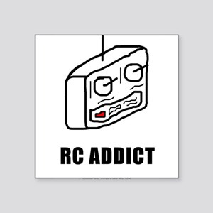 "addict_rc2 Square Sticker 3"" x 3"""