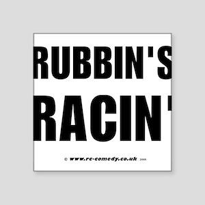 """Rubbin's Racin' Square Sticker 3"""" x 3"""""""