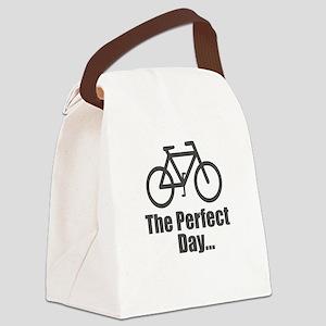 Cool Bike Canvas Lunch Bag