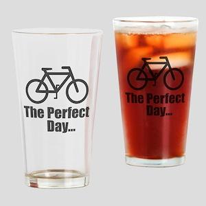 Cool Bike Drinking Glass