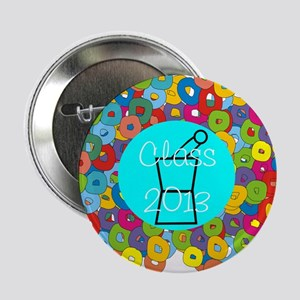 "pharmacist grad abstract 2.25"" Button"