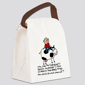 Squeeze These Dangly Things Canvas Lunch Bag