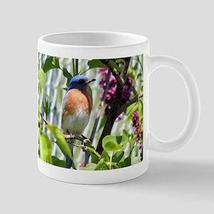 Bluebird in my Lilacs Mug