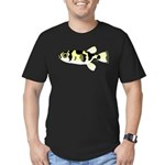 Amazon Puffer Men's Fitted T-Shirt (dark)