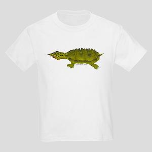 Matamata Turtle Amazon River Kids Light T-Shirt