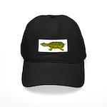 Matamata Turtle Amazon River Black Cap