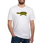 Matamata Turtle Amazon River Fitted T-Shirt