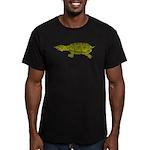 Matamata Turtle Amazon River Men's Fitted T-Shirt