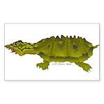 Matamata Turtle Amazon River Sticker (Rectangle 50