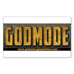Godmode Title Decal