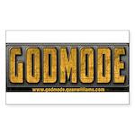 Godmode Title Sticker