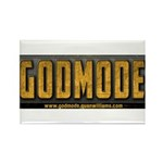 Godmode Title Rectangle Magnet (100 pack)