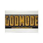 Godmode Title Rectangle Magnet (10 pack)