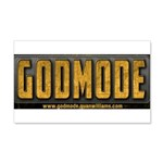 Godmode Title Wall Decal