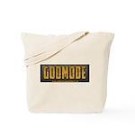 Godmode Title Tote Bag