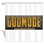 Godmode Title Shower Curtain