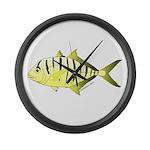 Yellow Trevally (aka Yellow Jack) fish Large Wall
