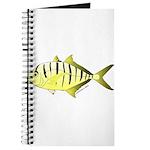 Yellow Trevally (aka Yellow Jack) fish Journal