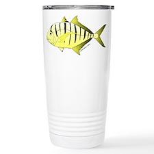 Yellow Trevally (aka Yellow Jack) fish Travel Mug